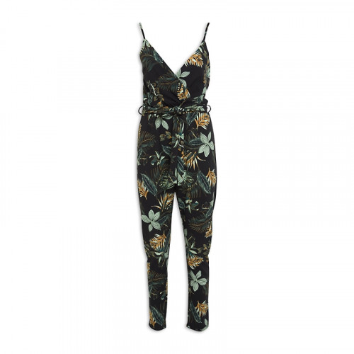 Palm Crossover Jumpsuit -
