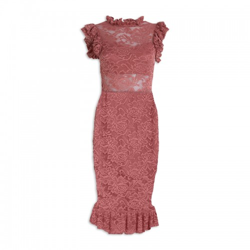 Rose Lace Dress -