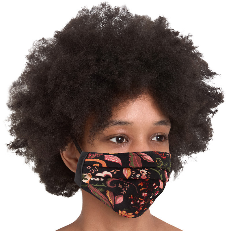 Paisley Cotton Mask -