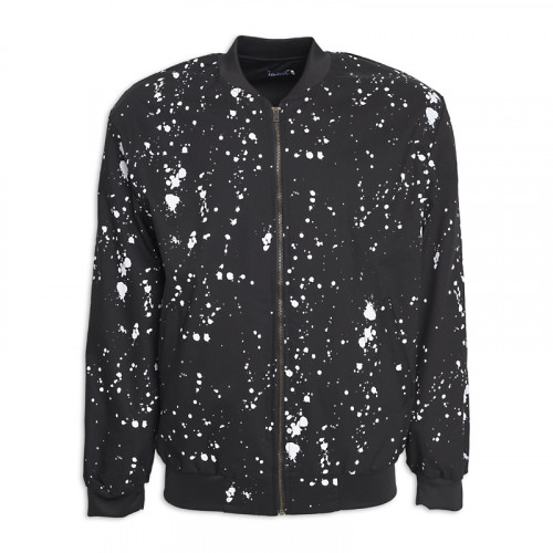 Black Splatter Bomber -