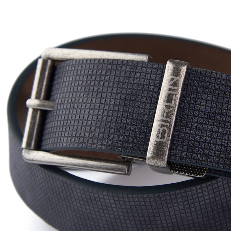 Navy Reversible Belt -