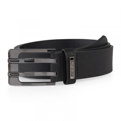 Black Two Prong Belt -