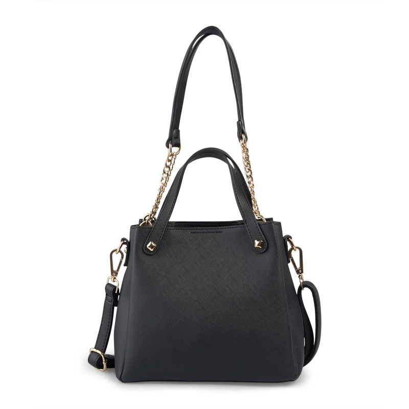 Black Structured Bag -