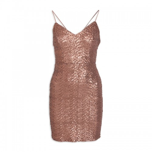 Rose Sequin Dress -