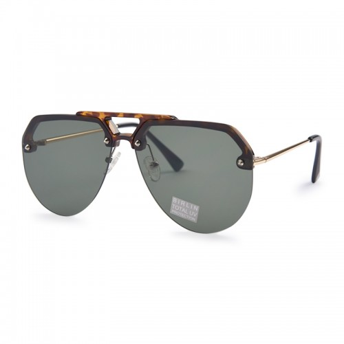 Brown Tort Sunglasses -