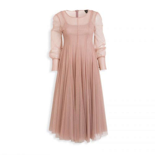 Mauve Tulle Dress -