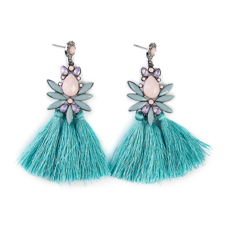 Pastel Tassel Earrings -