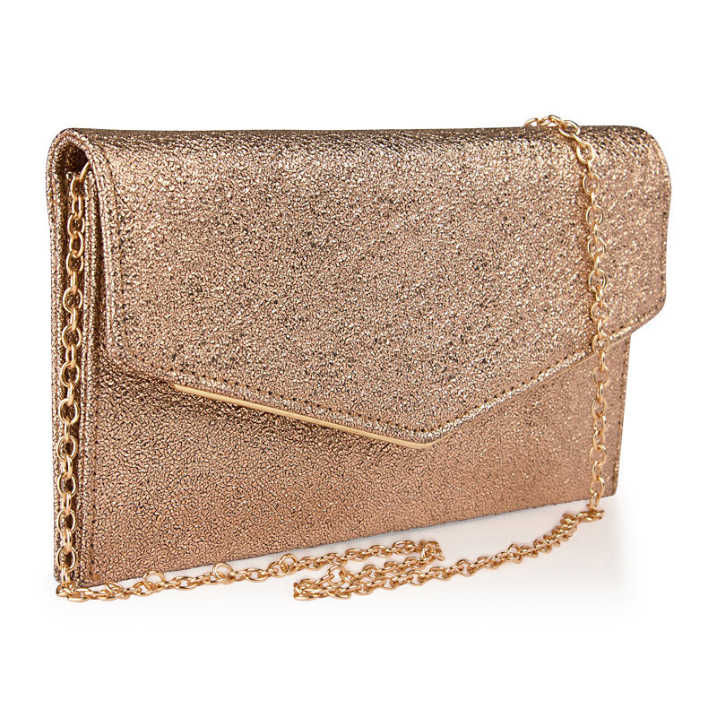 Champagne Envelope Clutch -