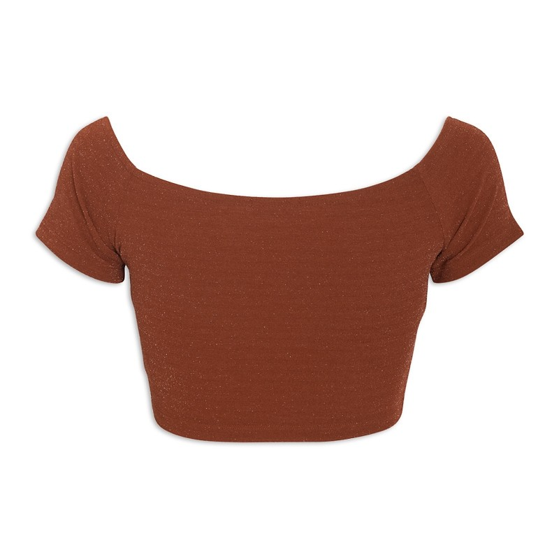 Rust Crop Top -
