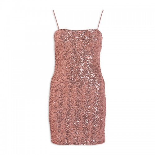 Rosegold Shift Dress -
