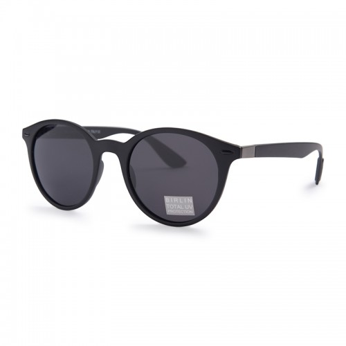 Black Round Sunglasses -