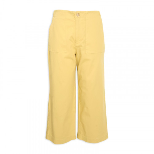 Citron Cotton Pants -