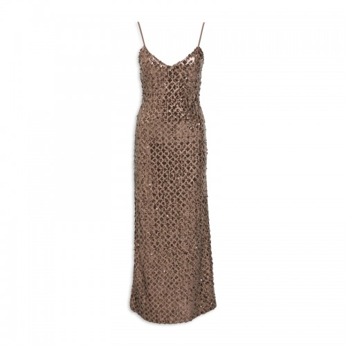 Gold Cami Sequin Dress -