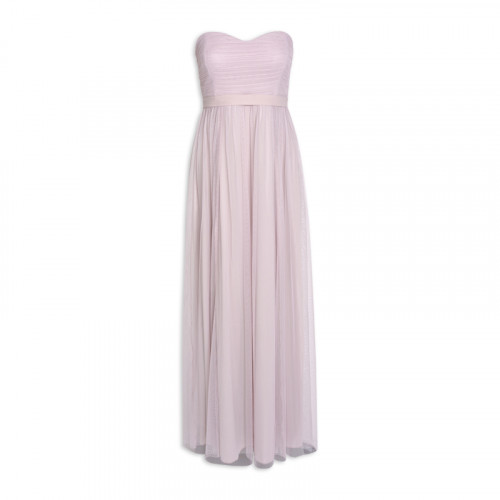 Lilac Tulle Maxi Dress -