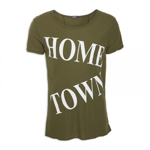 Olive Short Sleeve T - Shirt -