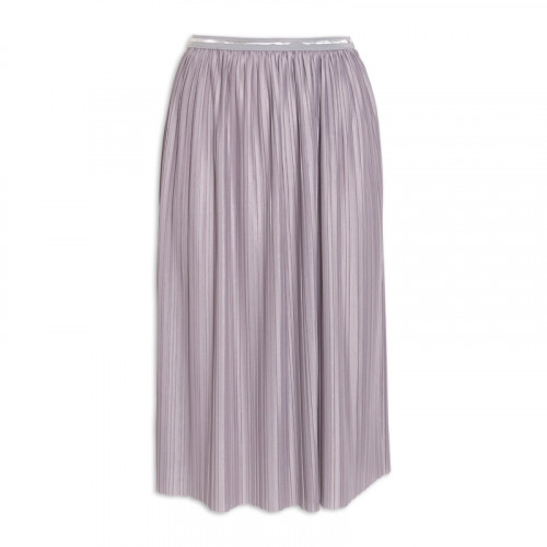 Grey Pleated Skirt -