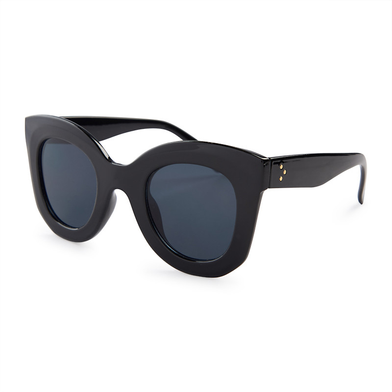 Black Cat Eye Sunglasses -