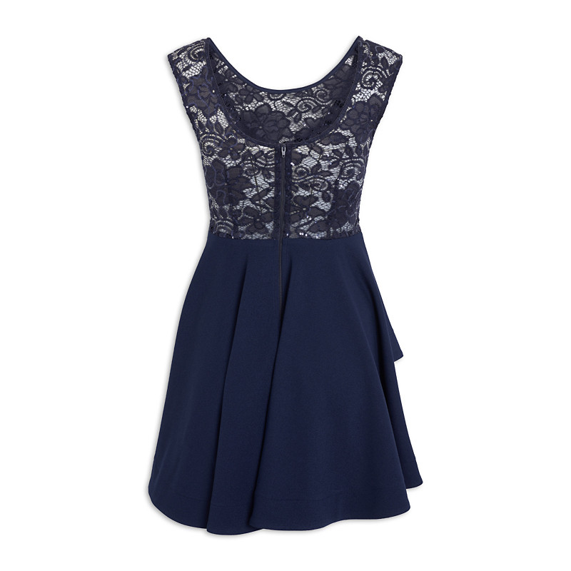 Navy Party Dress -