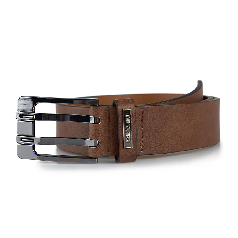 Brown Two Prong Belt -