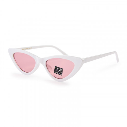 Pink and White Sunglasses -