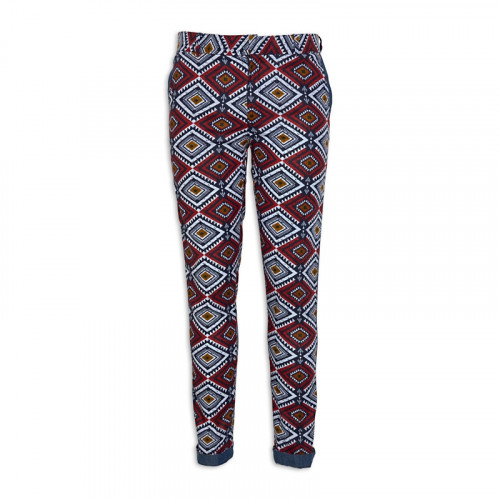 Navy Tribal Pants -