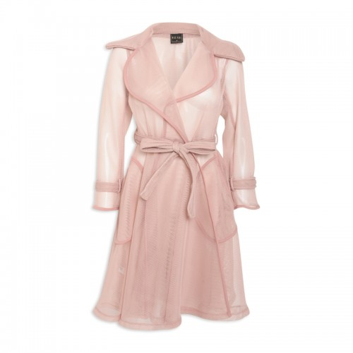 Almond Honeycomb Coat -
