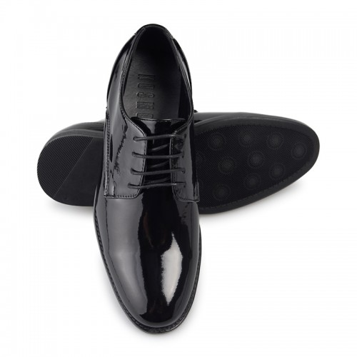 Black Patent Derby -