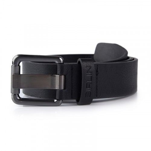 Black Wide Prong Belt -