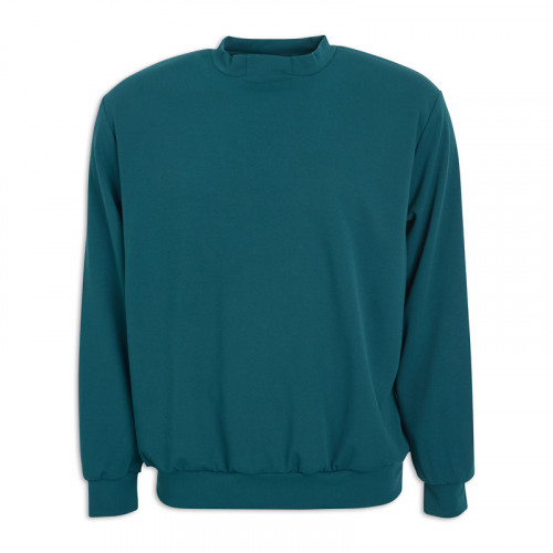 Teal Sweat Top -