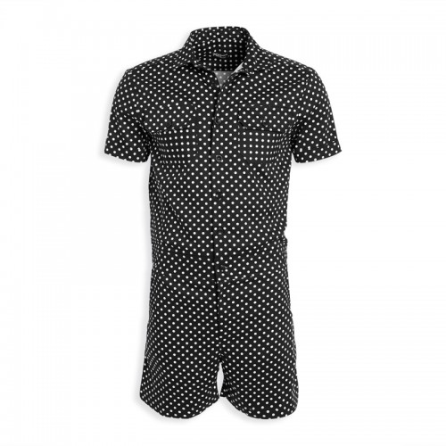 Polka Dot Short Jumpsuit -