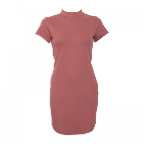 Rose Turtleneck Dress -
