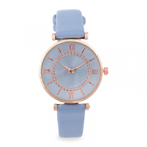 Blue Minimalist Watch -