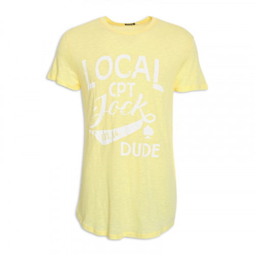 Lemon Printed Crew Neck T-Shirt -
