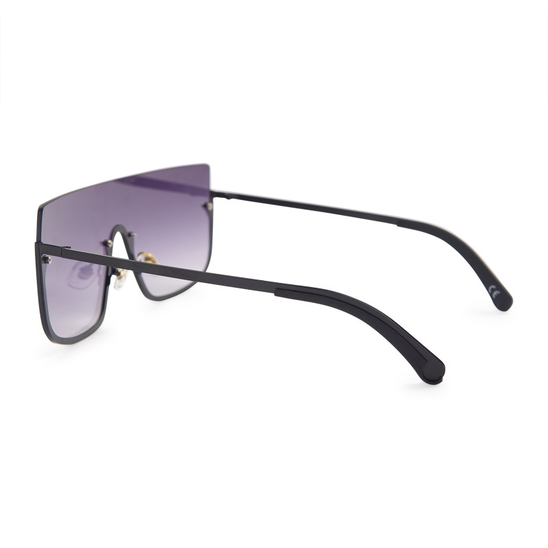 Black Frameless Sunglasses -